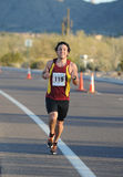 Male Road Race Runner. Stock Images