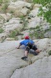 Male rock-climber Stock Image