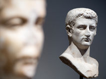 Male Roman Busts Royalty Free Stock Photos