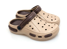 Male rubber shoes Royalty Free Stock Photography