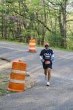 Male Runner in the 2021 Blue Ridge Marathon