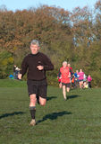 male running Fotografering för Bildbyråer