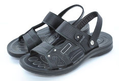 Male sandals Royalty Free Stock Photo