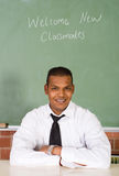 Male school teacher Royalty Free Stock Photos