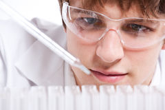 Male scientist Royalty Free Stock Images