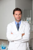 Male scientist stock images