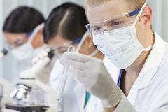 Male Scientist or Doctor In Laboratory Royalty Free Stock Photo