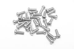 Male Screws (Gray scale). This image can be use for any purpose Royalty Free Stock Photography