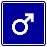 male sex gender symbol vector sign Stock Images