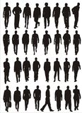 Male  shapes Stock Images