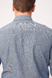 Male Shirt. Back view of male wearing casual shirt Stock Image