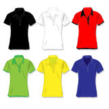 Male shirt illustration. Clothes collection. Stock Images