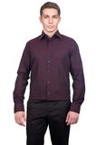 Male shirt isolated Stock Image