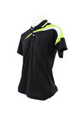 Male shirt template on the mannequin on white background. (with clipping path Stock Images