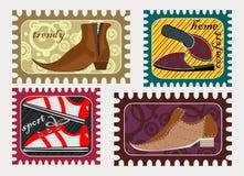 Male shoe fashion Stock Image