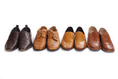 Male shoes Royalty Free Stock Photography