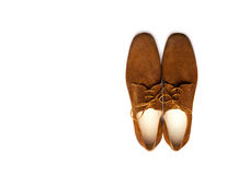 Male shoes Royalty Free Stock Images