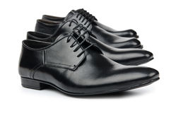 Male shoes - fashion concept Royalty Free Stock Images