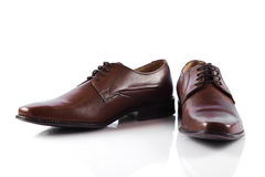 Male shoes. Royalty Free Stock Photos