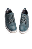 Male shoes. Male walk shoes over white Royalty Free Stock Photos