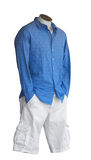 Male Shop Mannequin. Isolated with clipping path Stock Photography