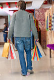 Male shopper Royalty Free Stock Image