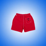 Male shorts against the gradient background. The male shorts against the gradient background Stock Photo