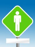 Male sign Stock Image