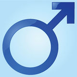 Male sign Royalty Free Stock Photo