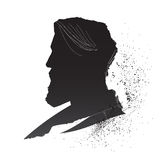 Male silhouette Royalty Free Stock Images