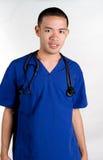 male sjuksköterska Royaltyfri Foto