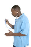 male sjuksköterska för 6 doktor royaltyfri bild