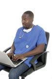 male sjuksköterska för 8 doktor royaltyfria bilder