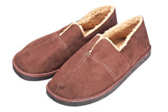 Male slippers Royalty Free Stock Image