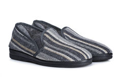 Male slippers Royalty Free Stock Photography