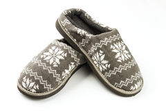 Male slippers Royalty Free Stock Photo