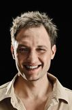 Male smile portrait Royalty Free Stock Photography