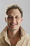 Male smile portrait Royalty Free Stock Image