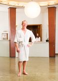 Male Spa Reception Portrait Royalty Free Stock Photos