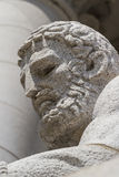 Male statue portrait Royalty Free Stock Images