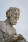 Male statue portrait Royalty Free Stock Image