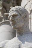 Male statue portrait Stock Photo