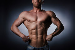 Male strength Royalty Free Stock Images