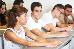 Male student Stock Images