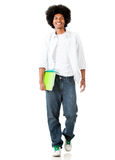 Male student walking Stock Photos