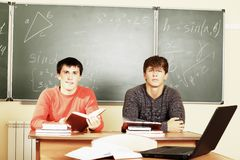 Male Students Stock Images
