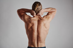 Male suffering from pain Royalty Free Stock Image
