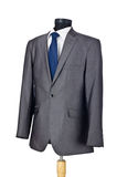 Male suit isolated. On the white Stock Photos