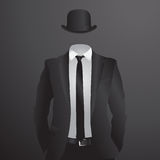 Male suit. Vector Illustration Royalty Free Stock Photos
