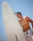 Male surfer Royalty Free Stock Images